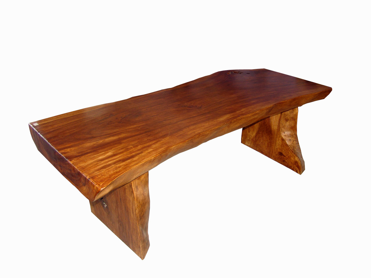 Slab Table With Natural Edges