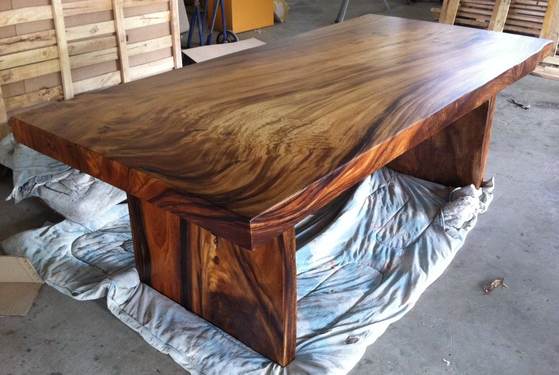 Custom woodwork tables